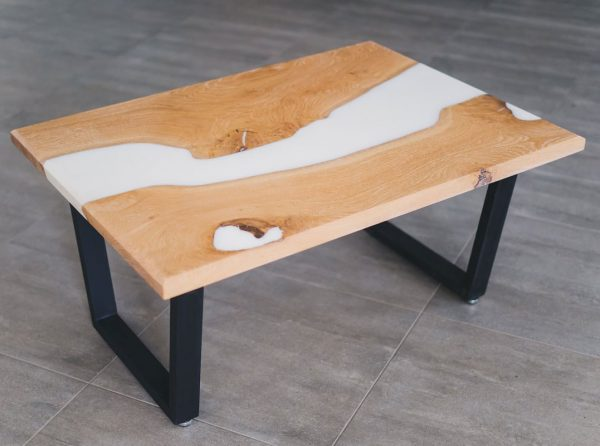 Snow Wood Natural Dining Table