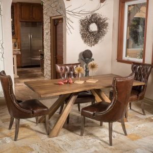 Baney Solid Wood Dining Table