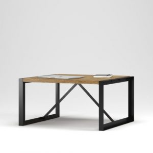 Cambridge Coffee Table: Modern Industrial Handcrafted