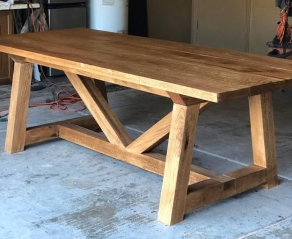 Outdoor Live Edge Wood Table [Bay Area Collection 2021]