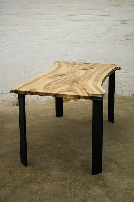 Outdoor Dinner Walnut Wood Table [Bay Area, California]
