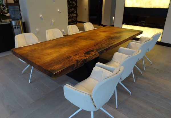 Solid Wood Conference Table [Bay Area Collection]