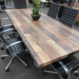 Live Edge Large Conference Table