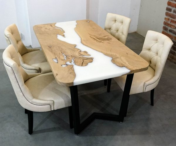luxury solid wood table Bay Area