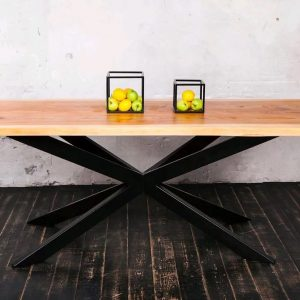 Outdoor Dinner Live Edge Wood Table