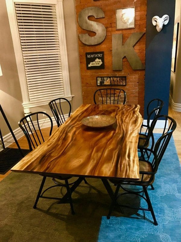 Monkey Pod Dining Room Table
