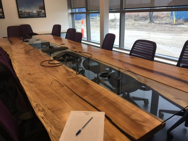 Live Edge Dining / Conference Table [San Francisco Bay Area]