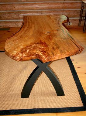 Natural Slab Office Desk. Handmade Rustic [2021]