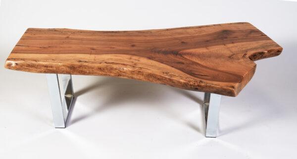 Y-shape Natural Black Walnut Coffee Table, California, USA
