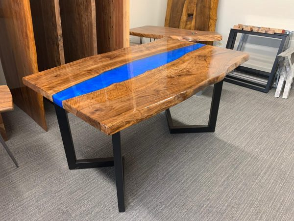 Blue River Black Walnut Dining Table, Bay Area, California